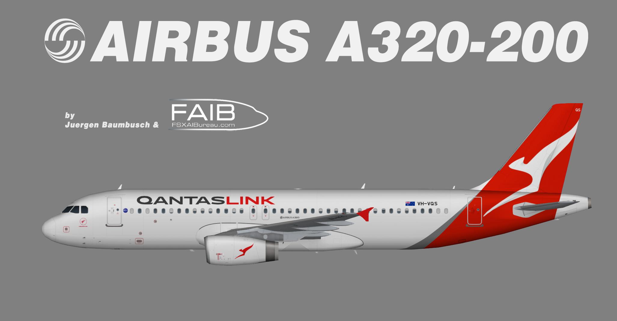 Qantaslink Airbus A320-200
