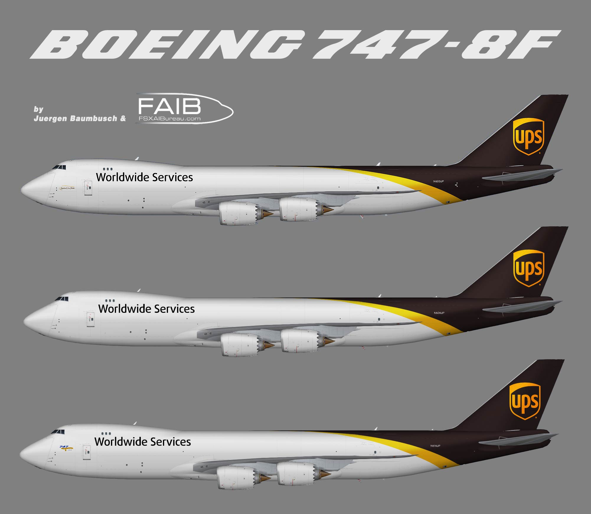 United Parcel Service Boeing 747-8F