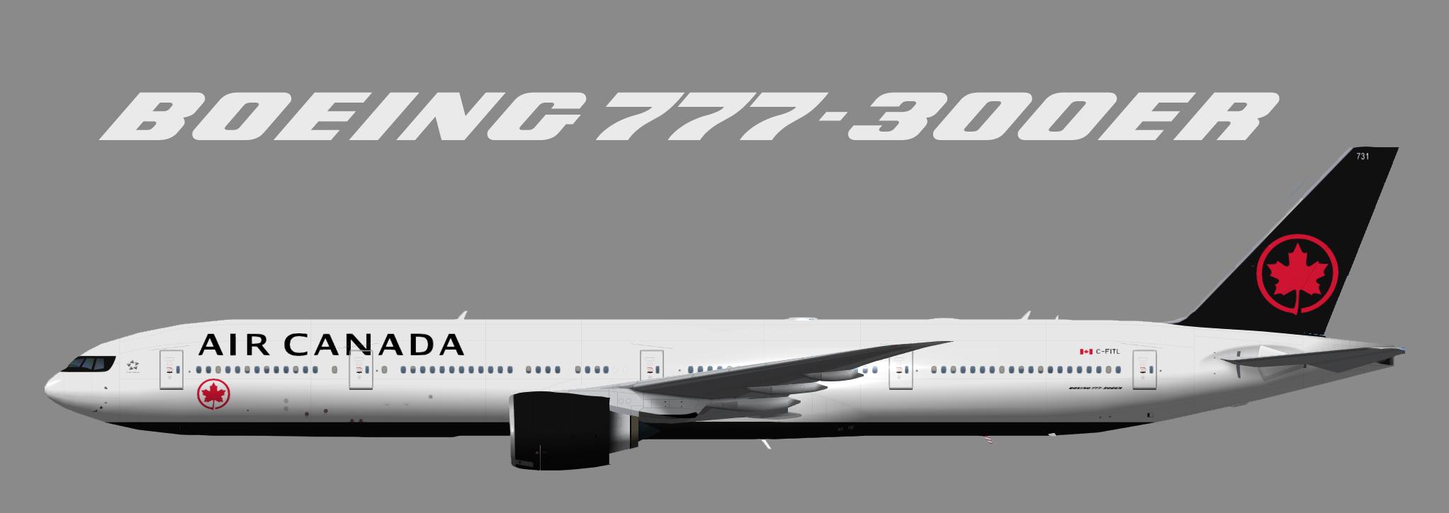 Air Canada Boeing 777-300ER NC (TFS)