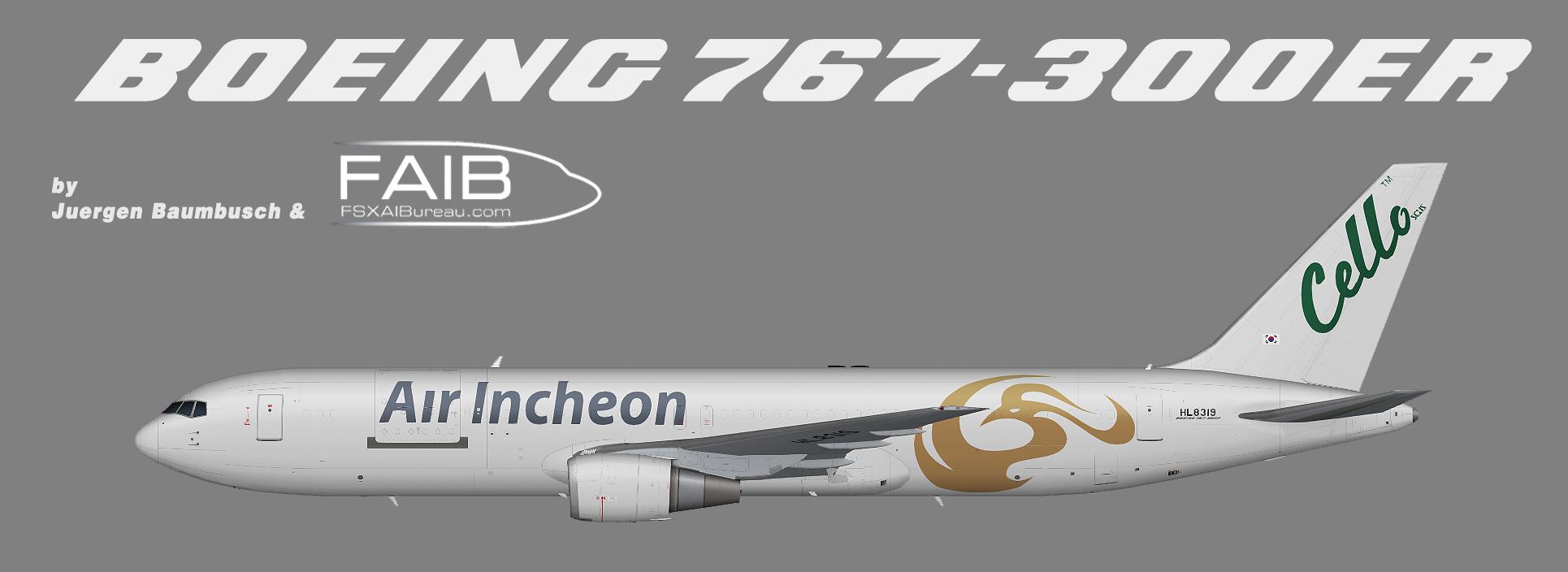 Air Incheon Boeing 767-300F