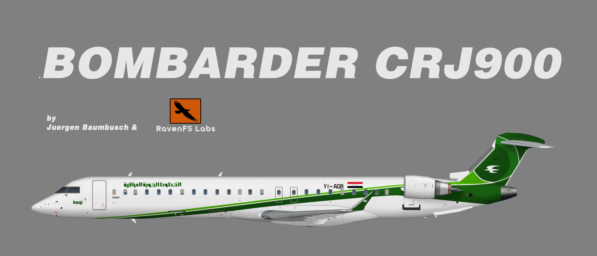 RFSL Iraqi Airways Bombardier CRJ900