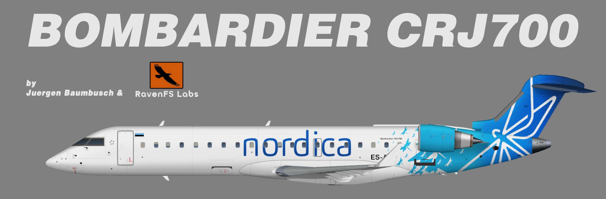 RFSL Nordica Bombardier CRJ700
