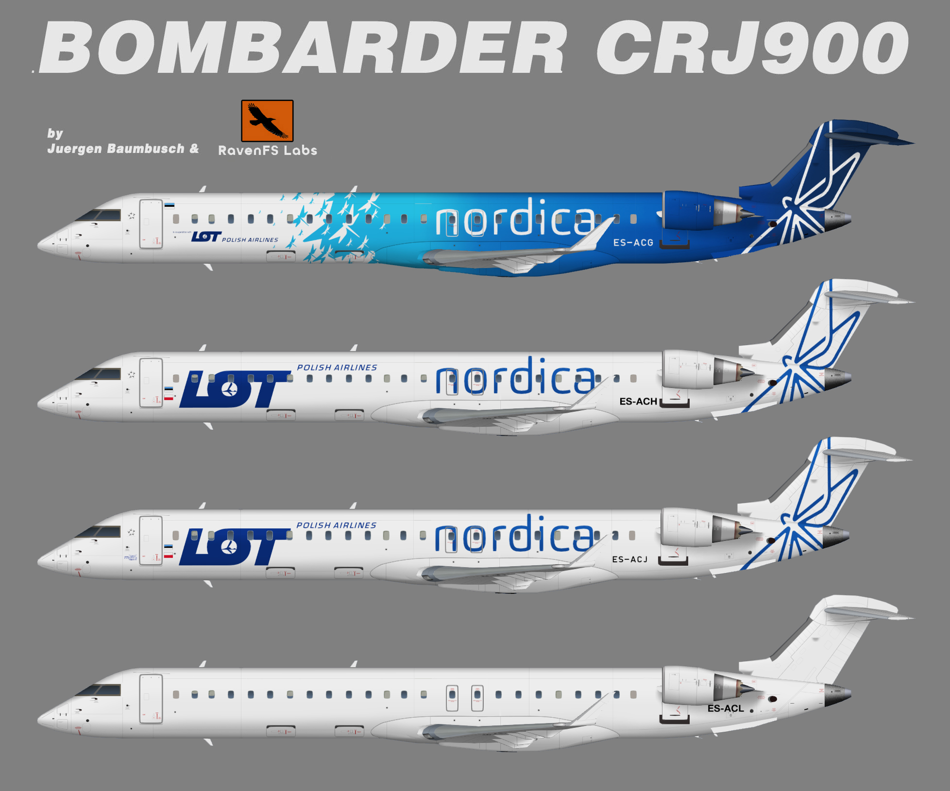 RFSL Nordica Bombardier CRJ900