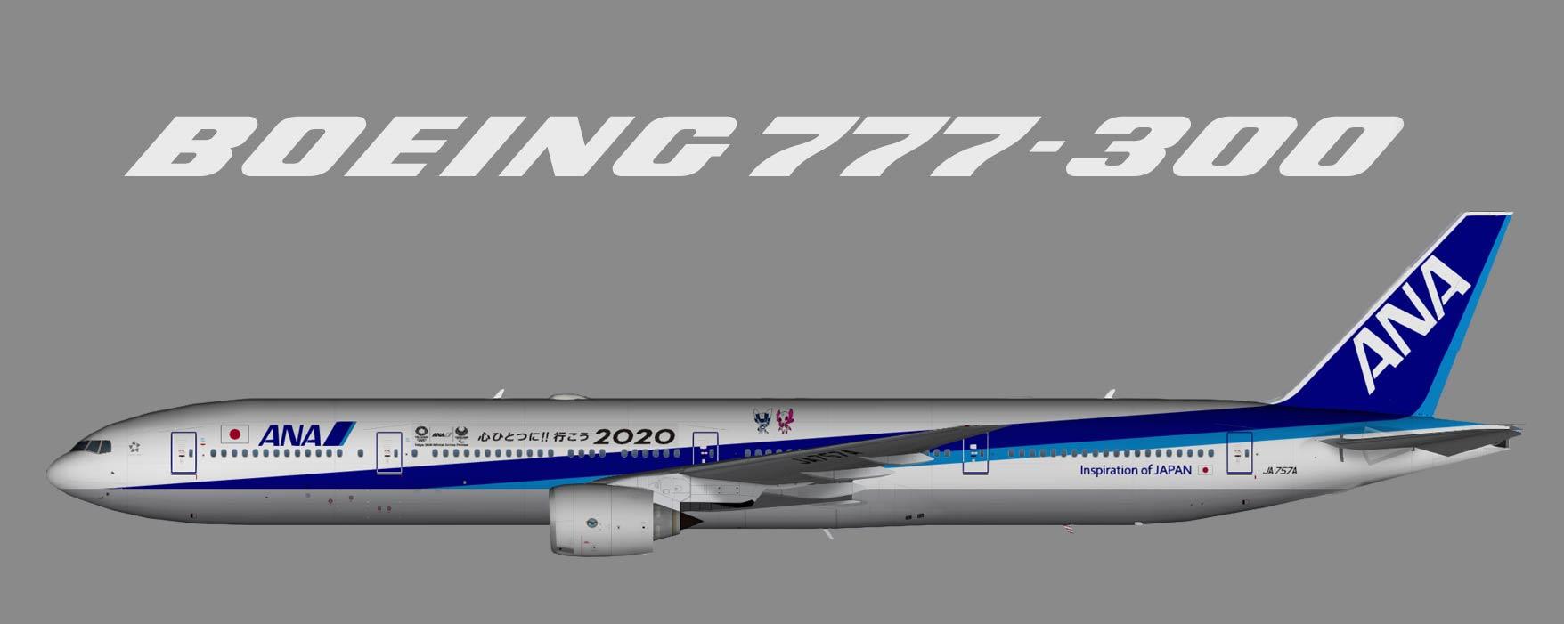 All Nippon AIrways (ANA) Boeing 777-300