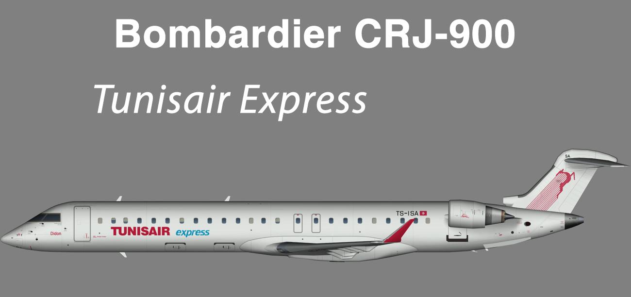 Tunisair Express Bombardier CRJ-900 – Nils