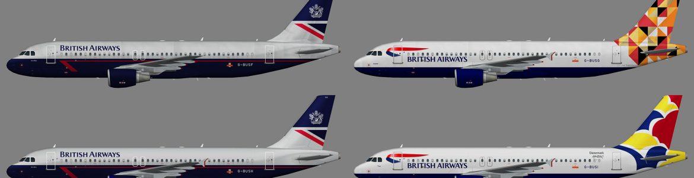 A320BritishAirwaysWorldTails