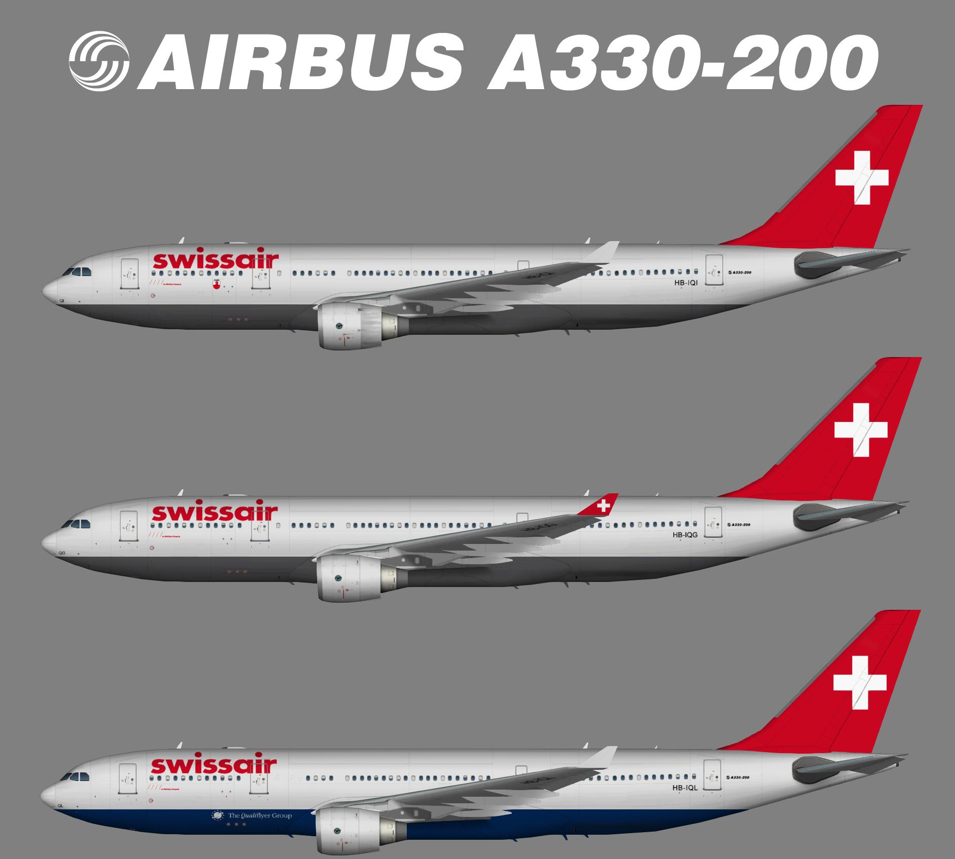 Swissair Airbus A330-200
