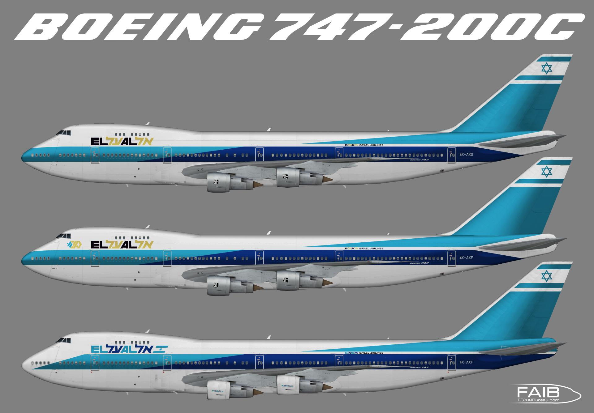 El Al Airlines Boeing 747-200C