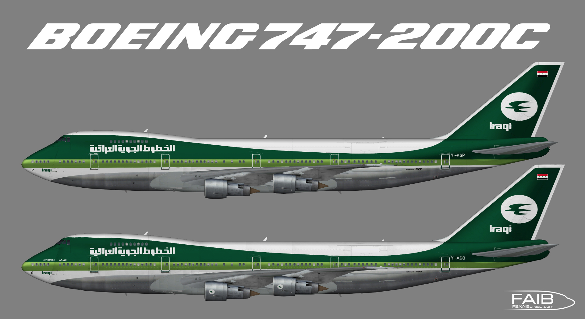Iraqi Airways Boeing 747-200C
