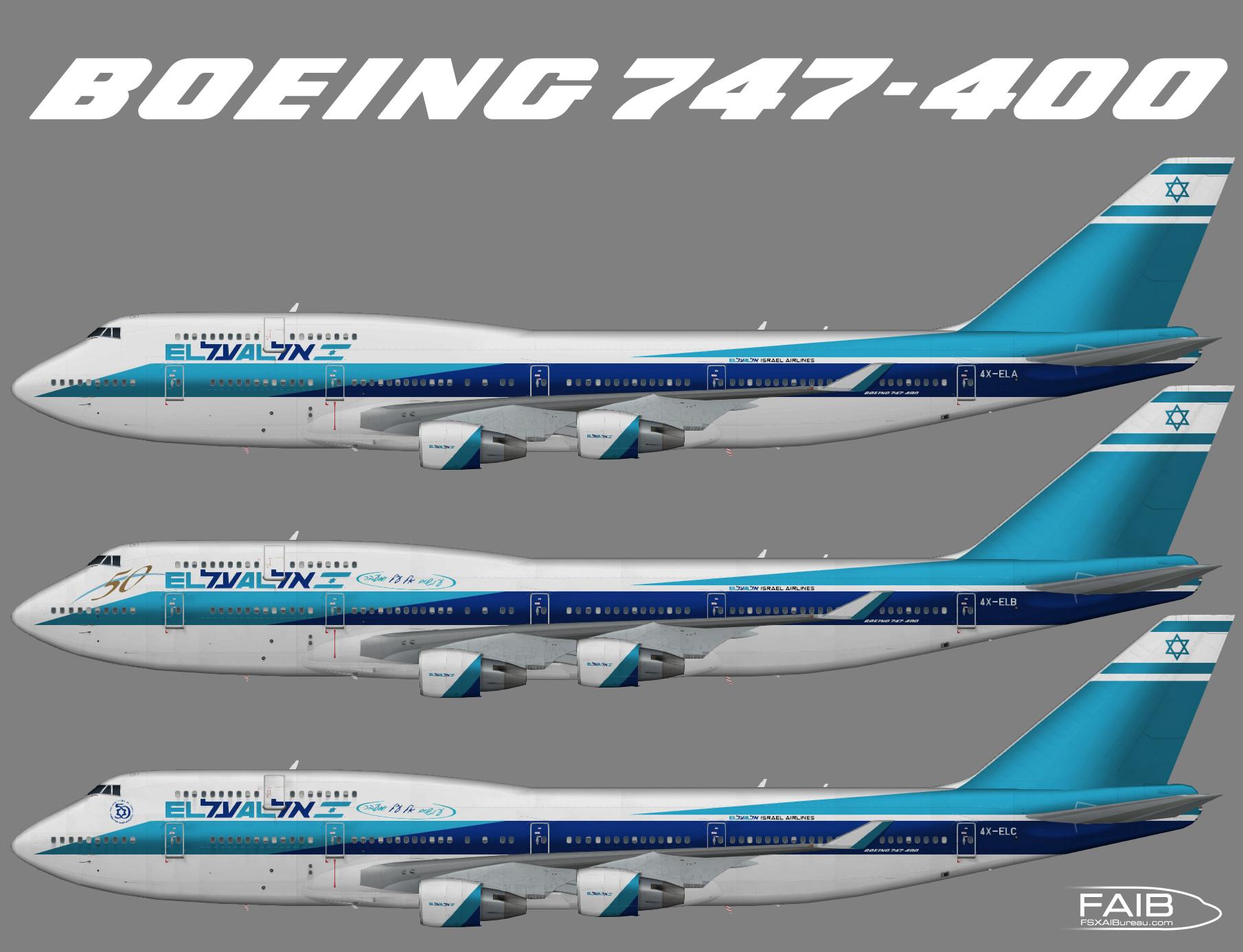 El Al Airlines Boeing 747-400