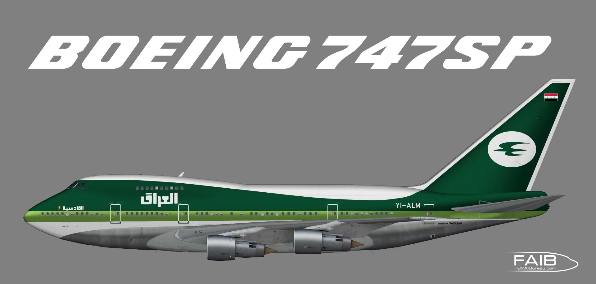 Iraq Government Boeing 747SP