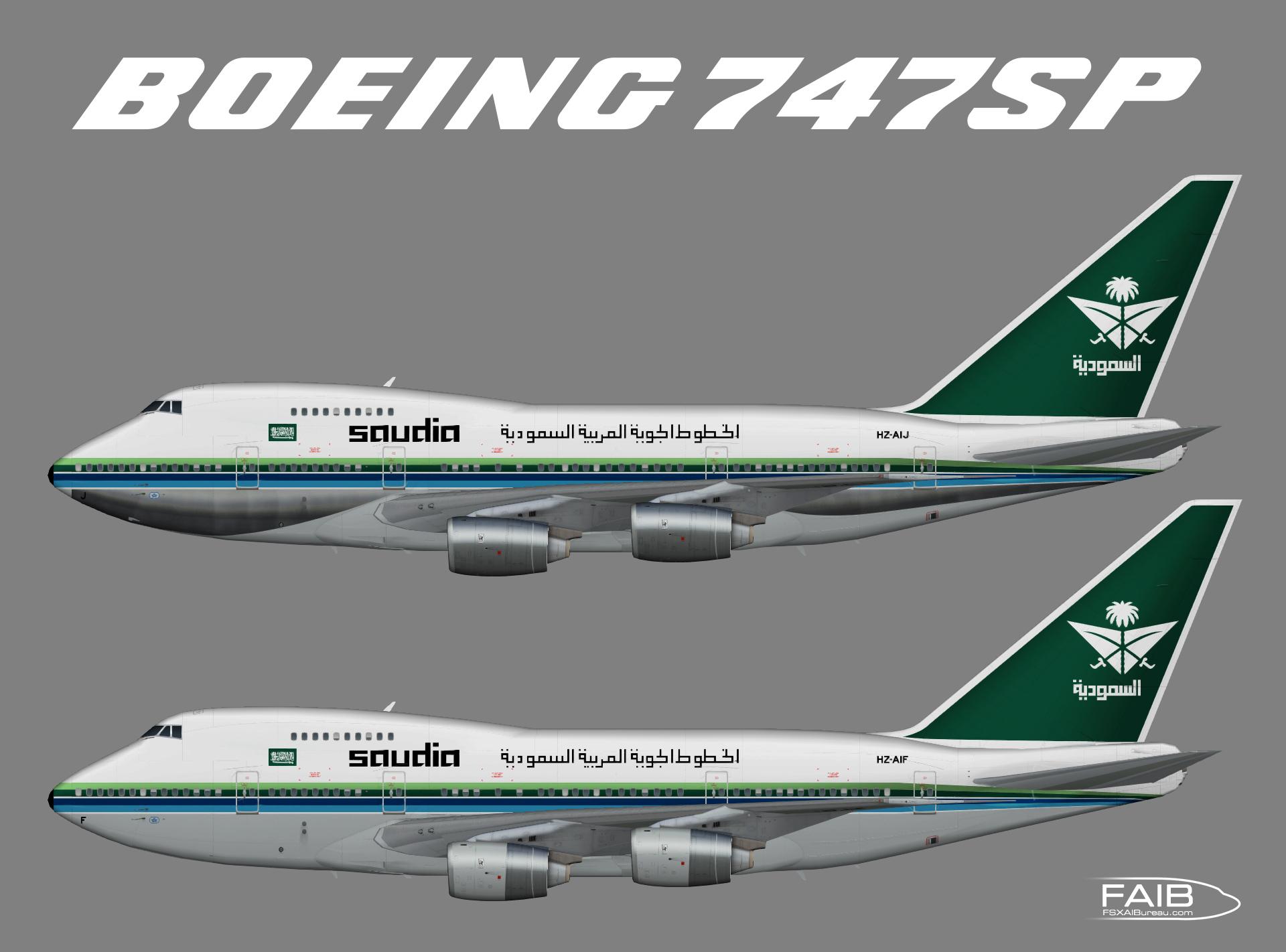 Saudia Boeing 747SP