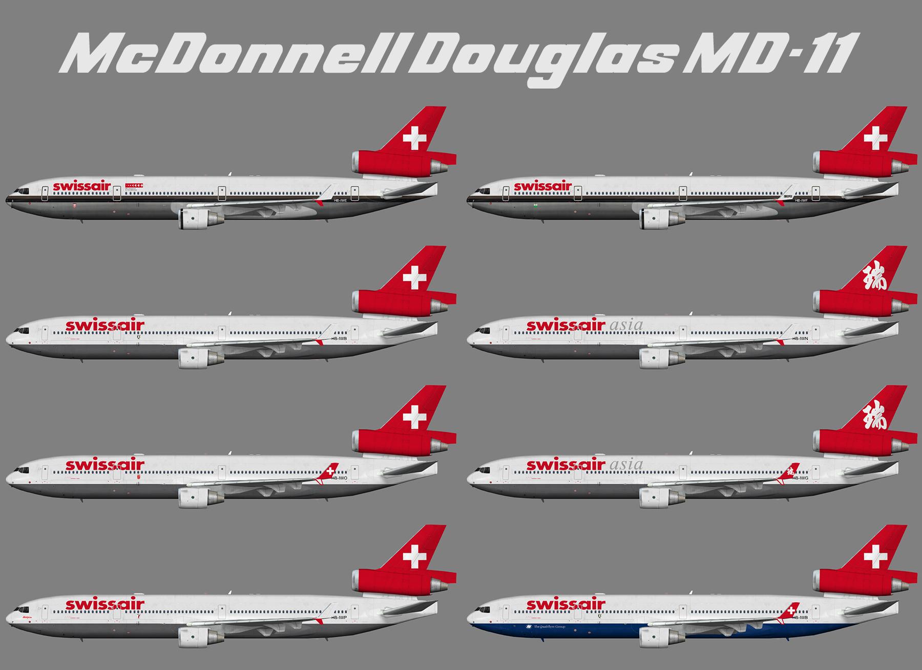 Swissair McDonnell Douglas MD-11