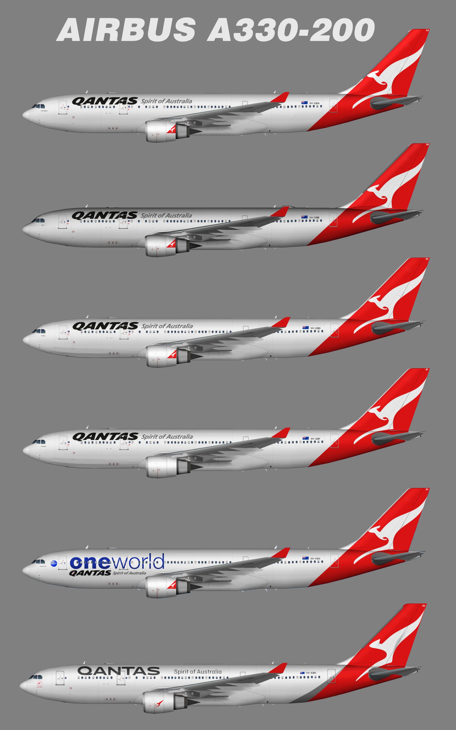 Qantas Airways Airbus A330-200