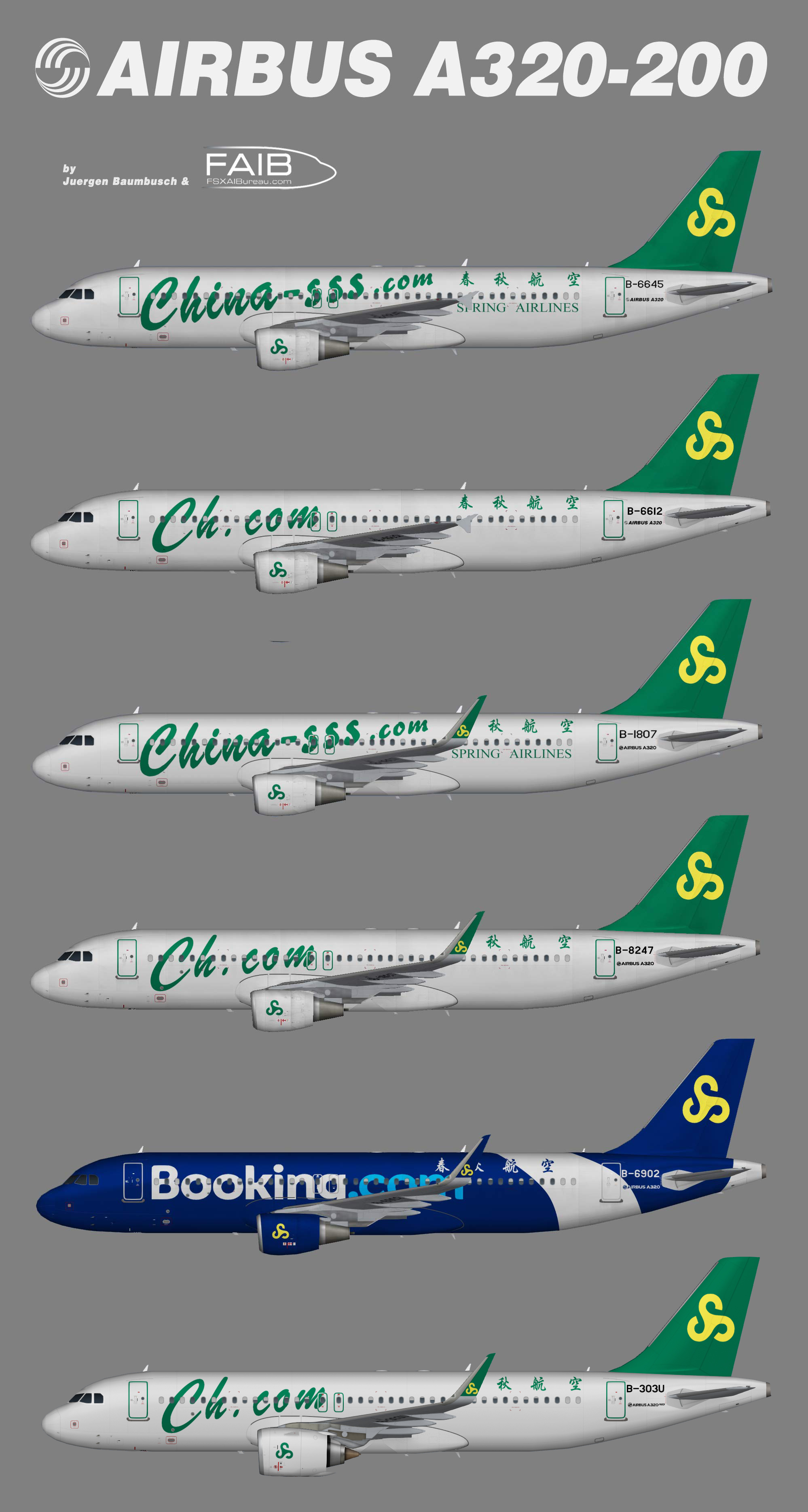 Spring Airlines Airbus A320-200