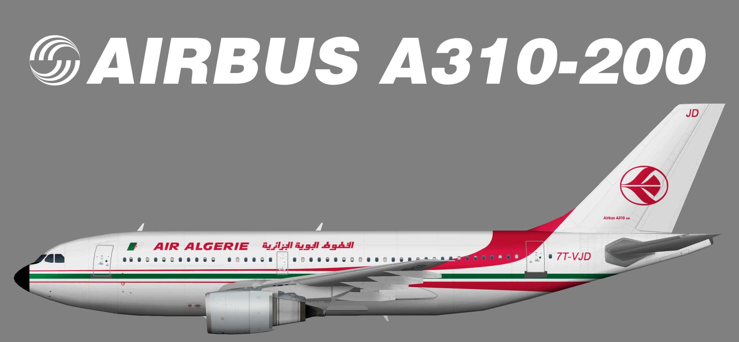 Air Algerie Airbus A310-200