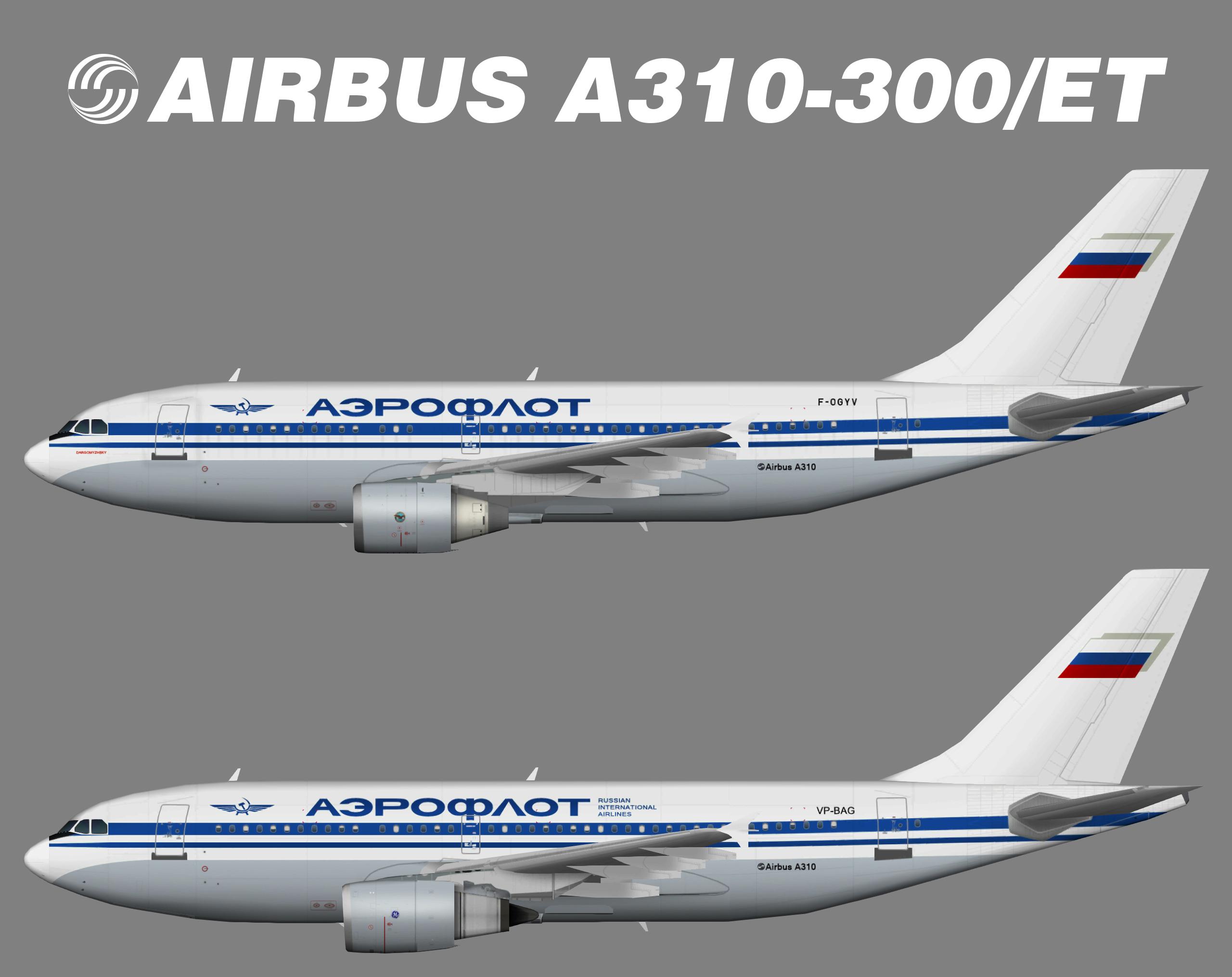 Aeroflot Airbus A310-300