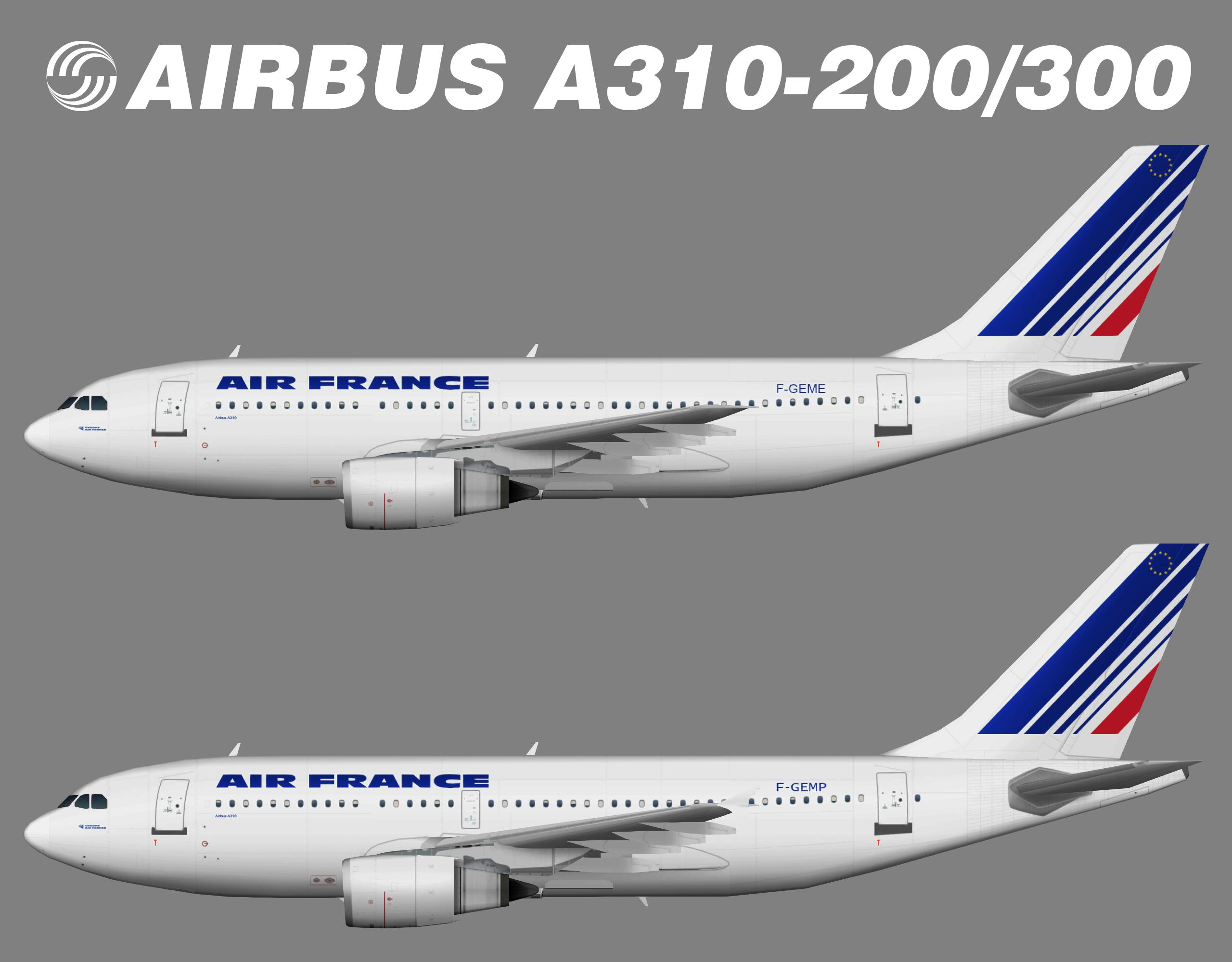 Air France Airbus A310-200/300