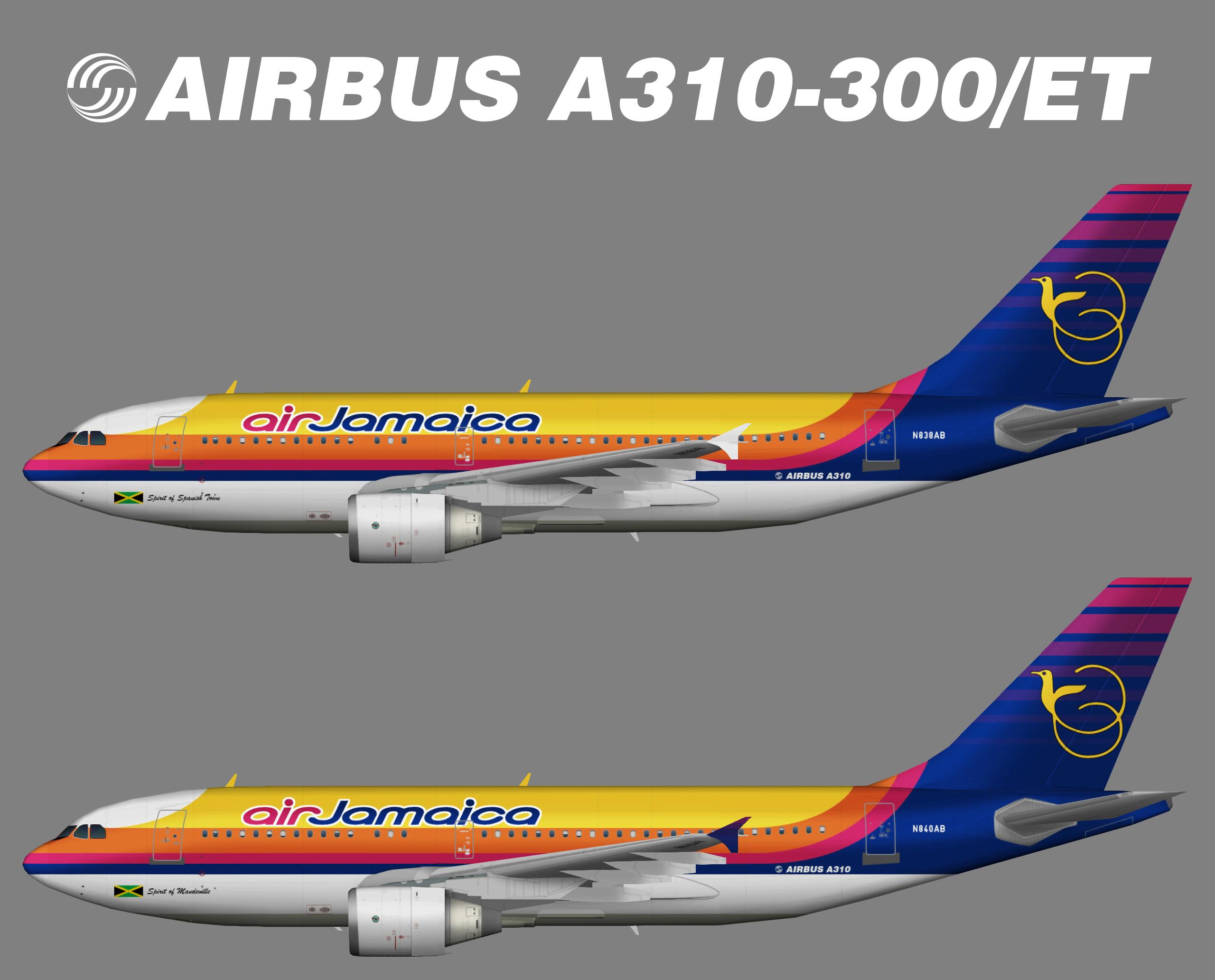 Air Jamaica Airbus A310-300