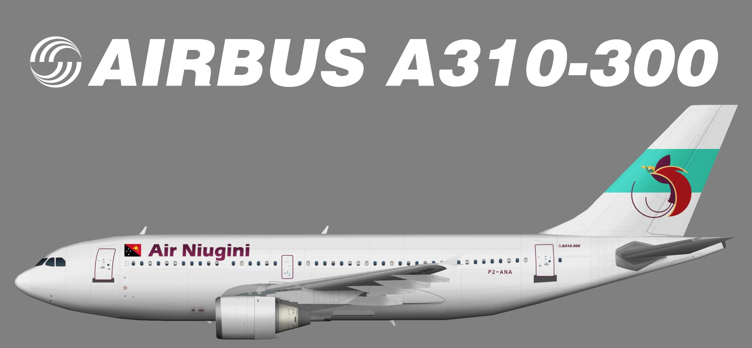 Air Niugini Airbus A310-300
