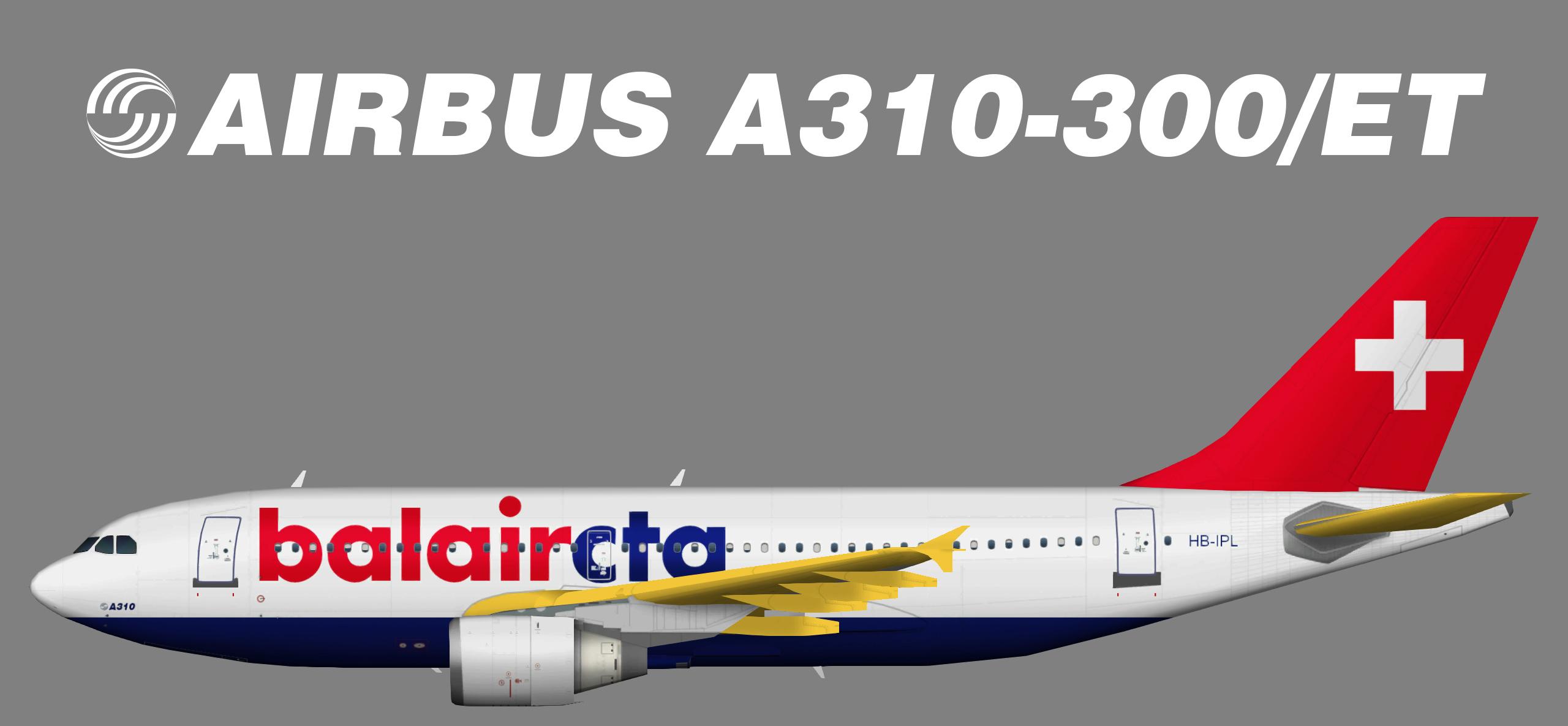 BalairCTA Airbus A310-300