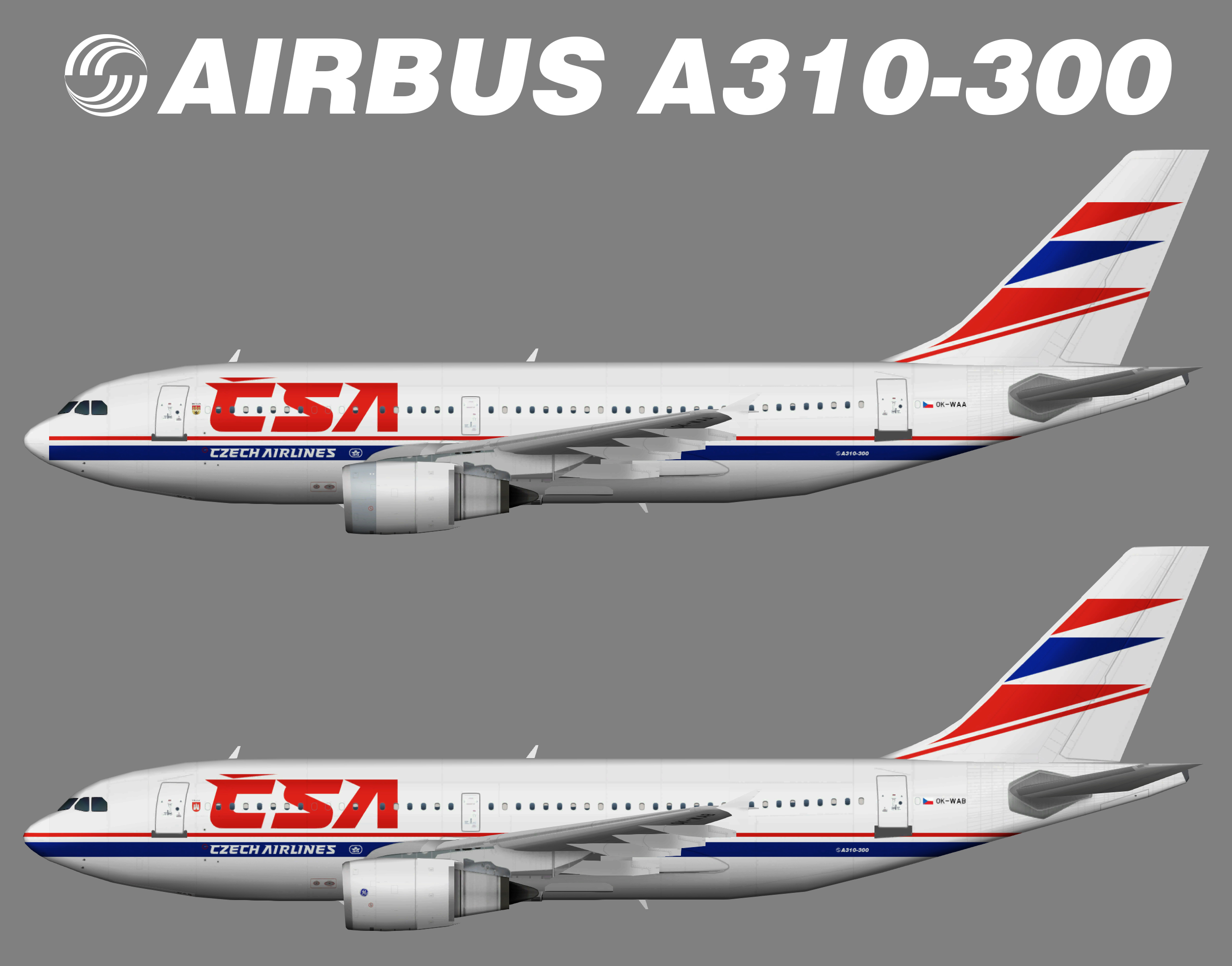 CSA Czech Airlines Airbus A310-300