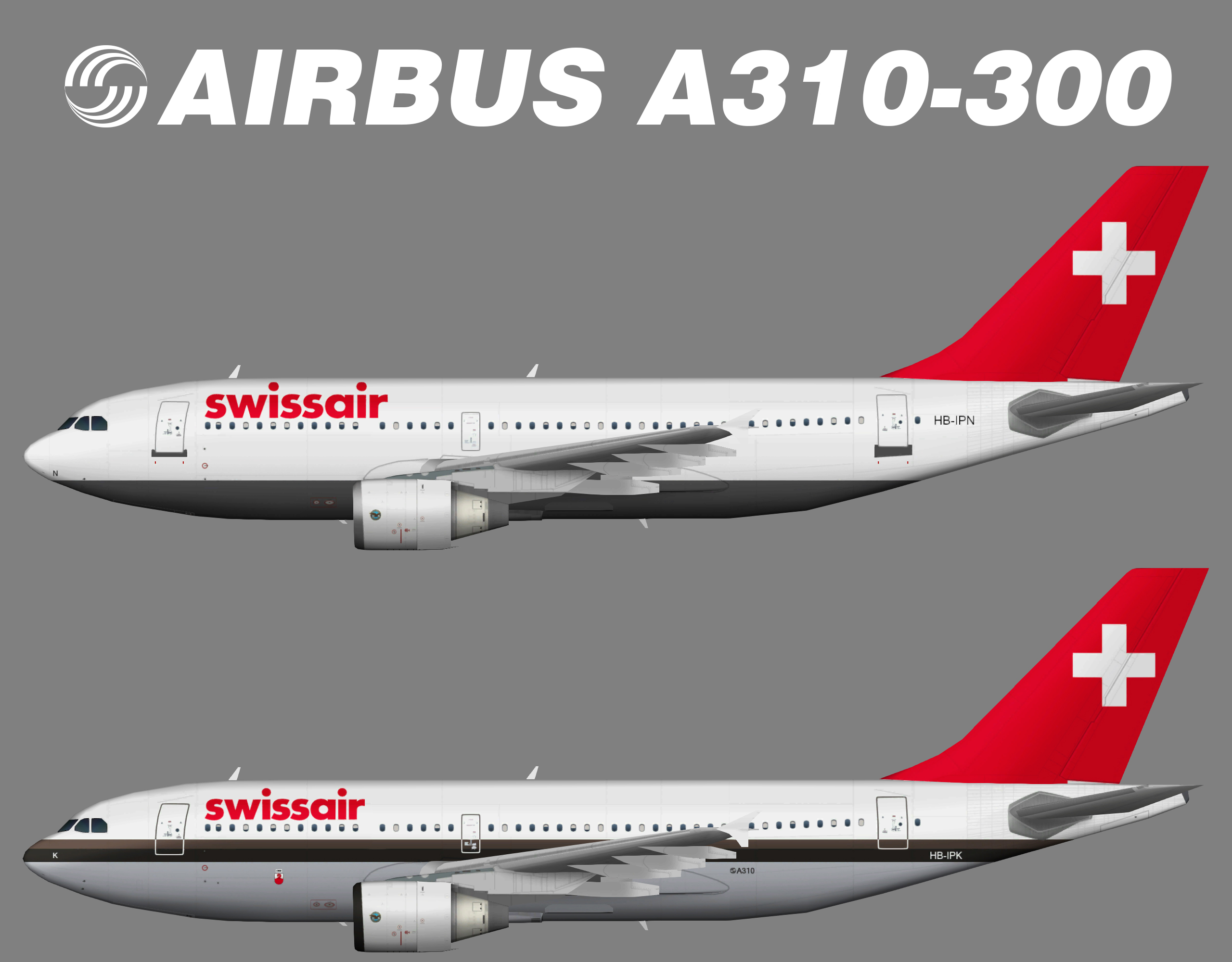 Swissair Airbus A310-300