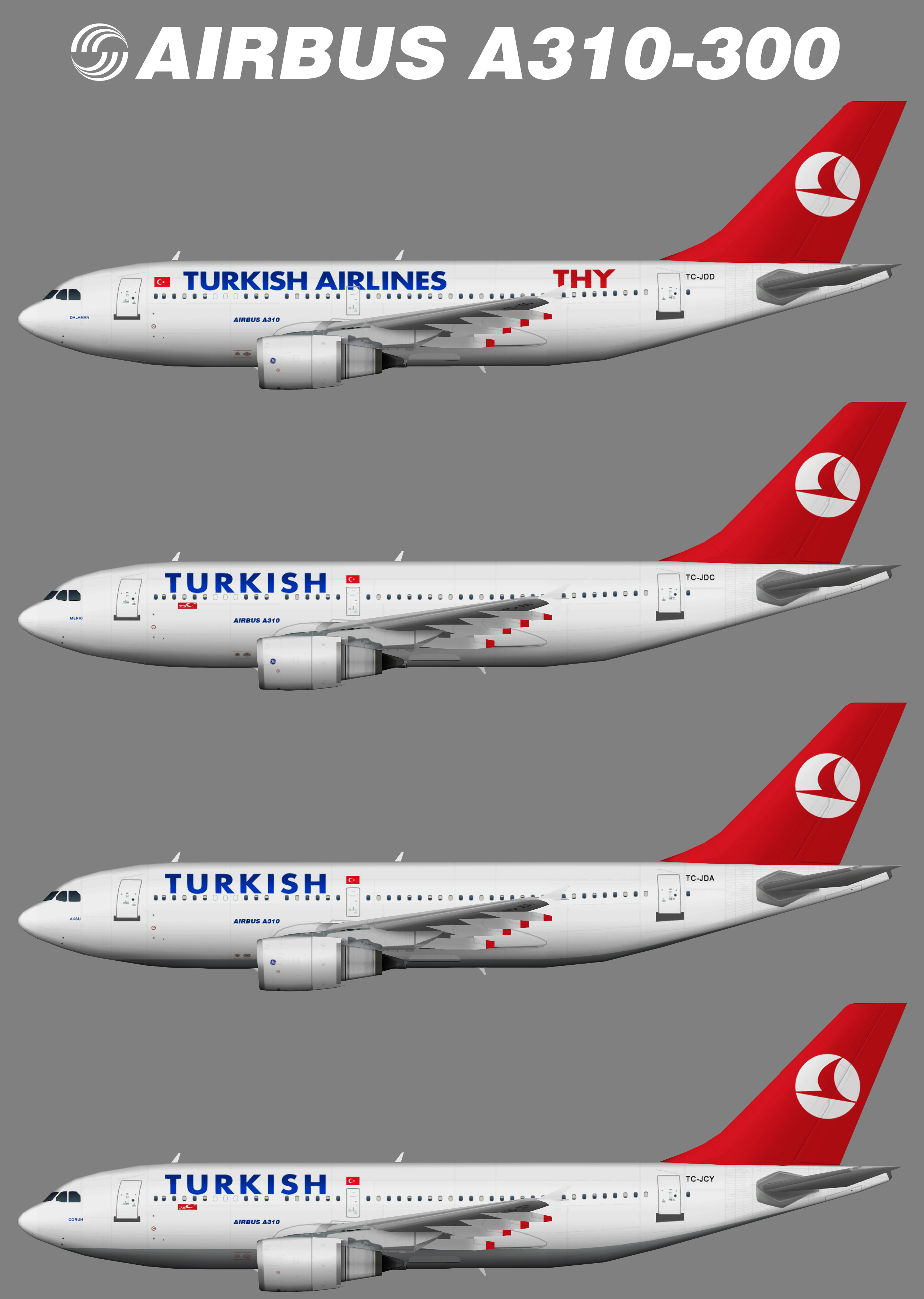 Turkish Airlines Airbus A310-300