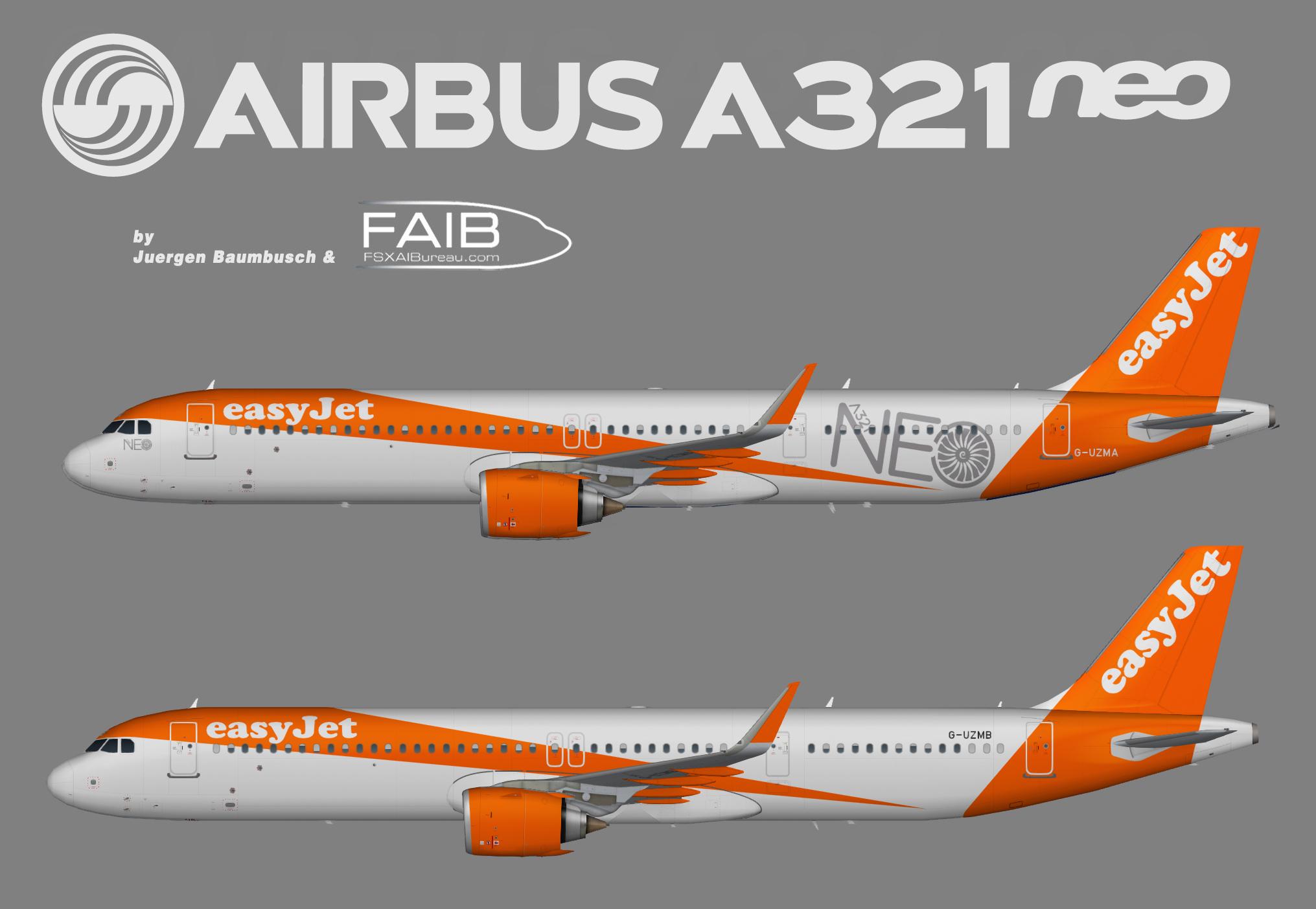 Easyjet A321NEO (ACF)