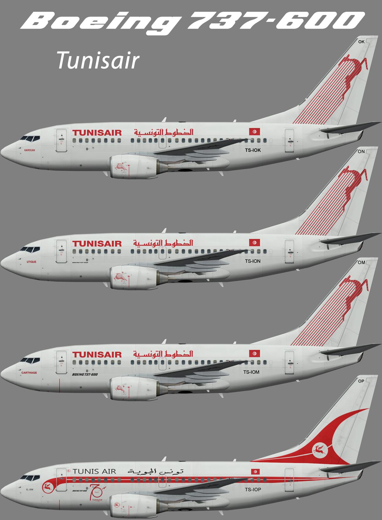 Tunisair Boeing 737-600 – Nils