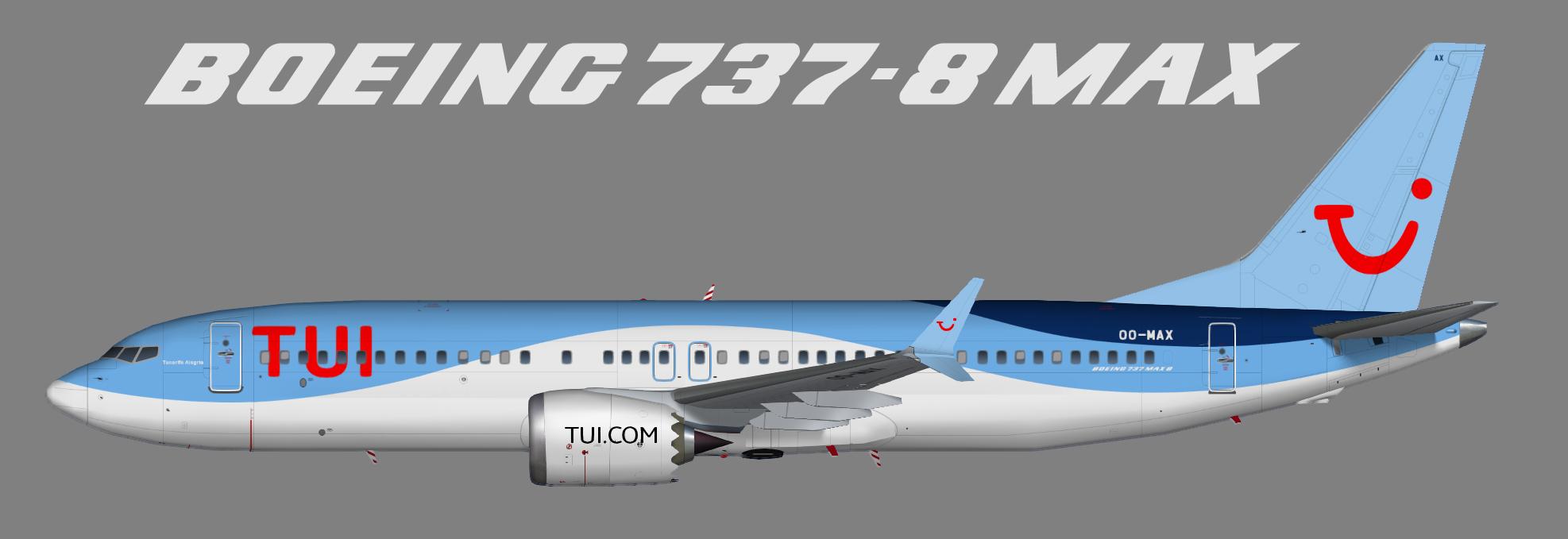 Tui Airlines Belgium Juergen S Paint Hangar