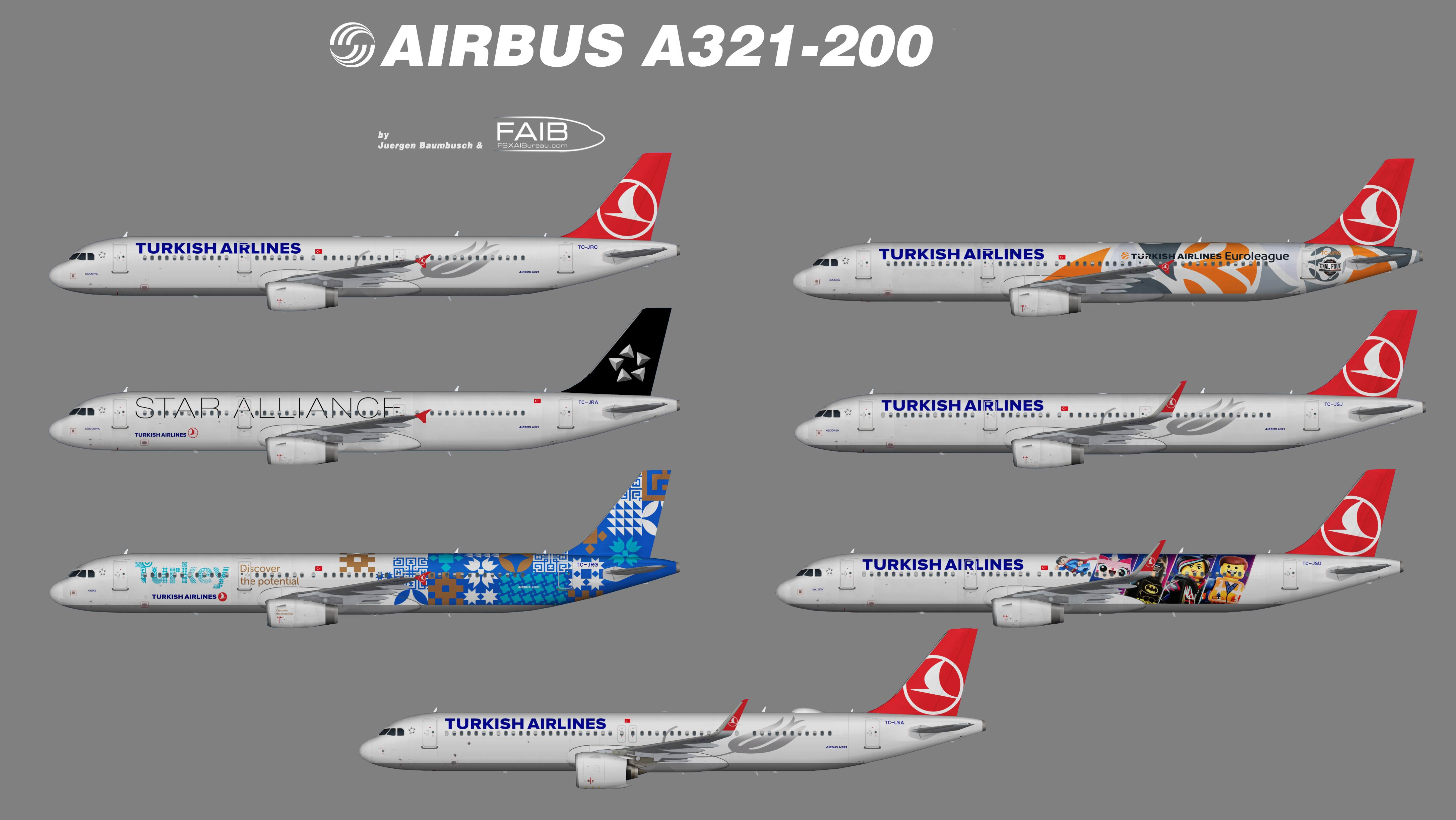 Turkish Airlines Airbus A321-200