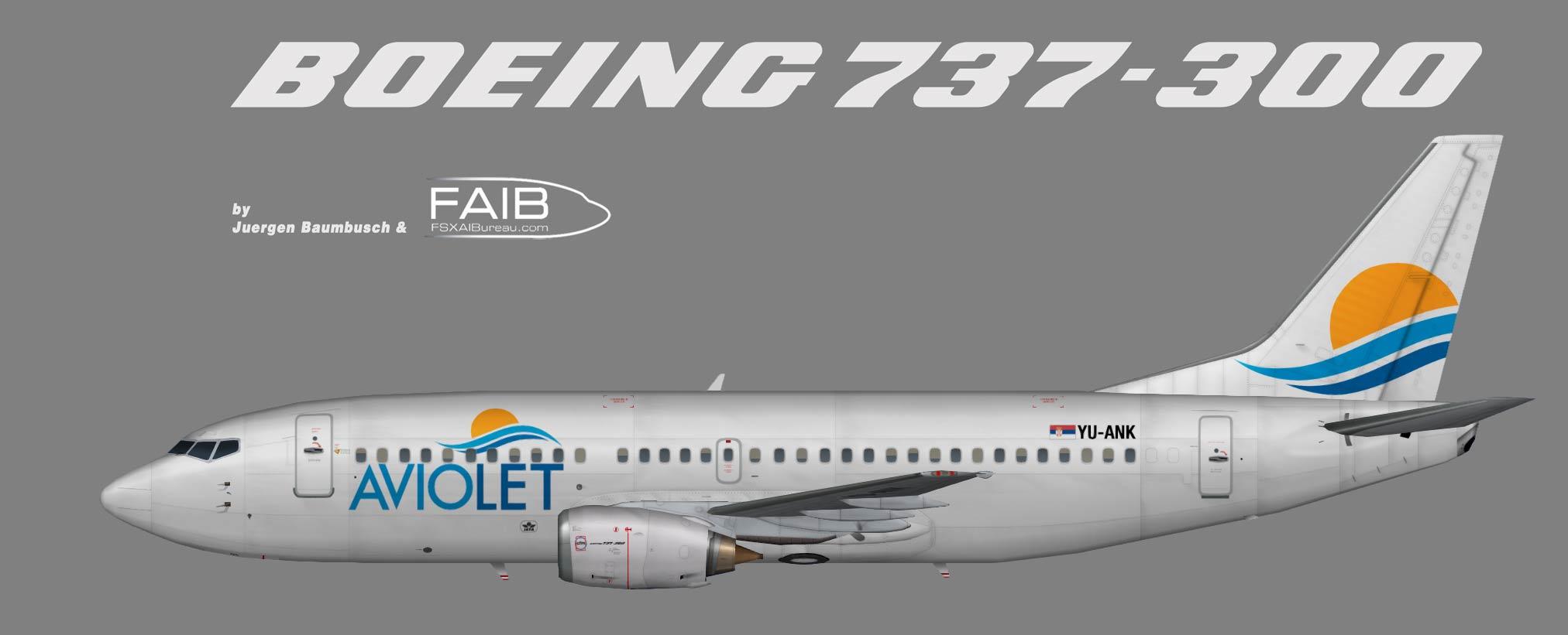 Aviolet Boeing 737-300