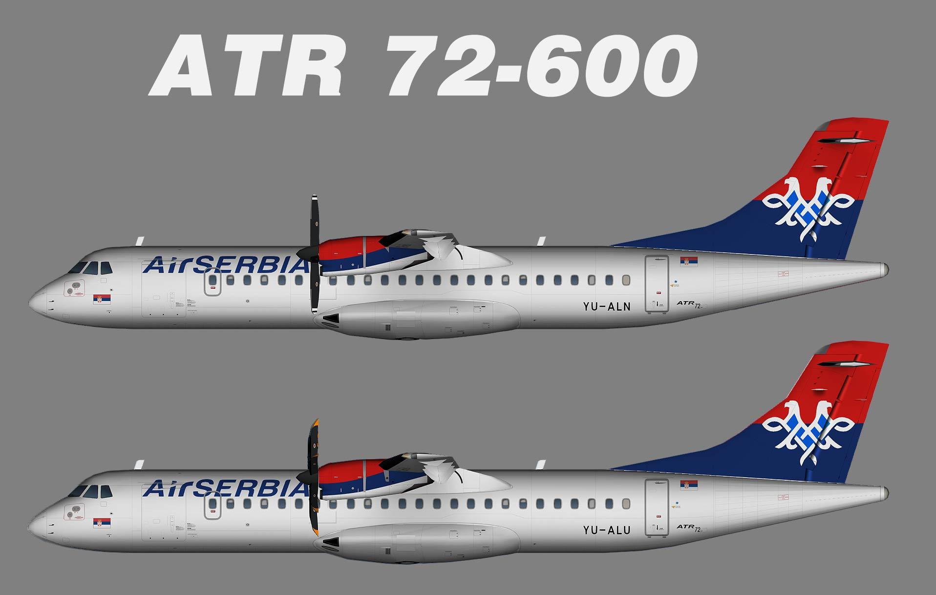 Air Serbia ATR 72-200/500