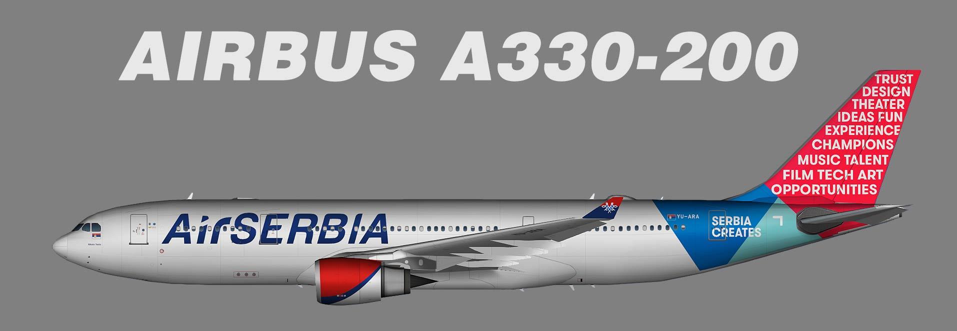 Air Serbia Airbus A330-200