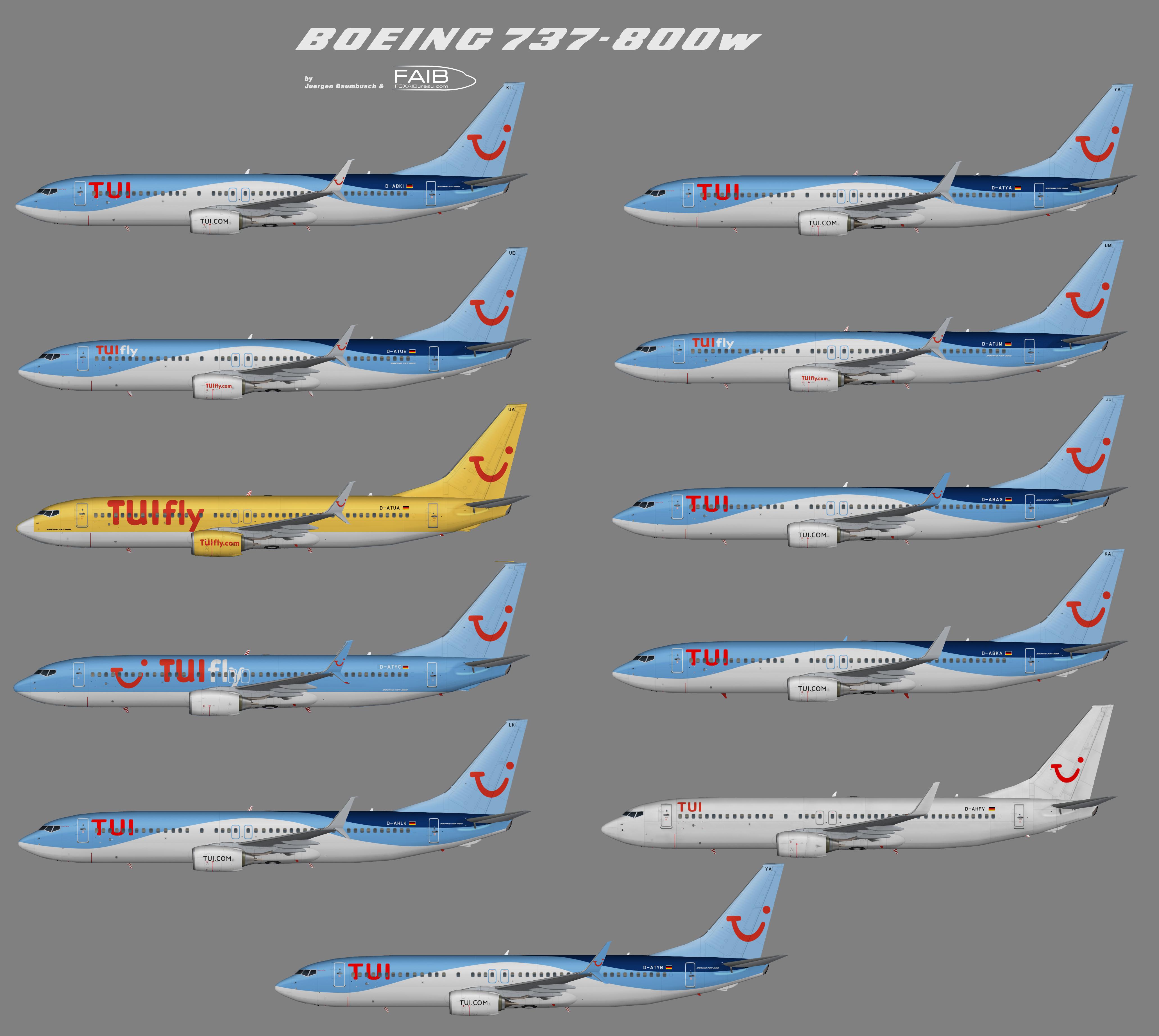 Tuifly.com Boeing 737-800w