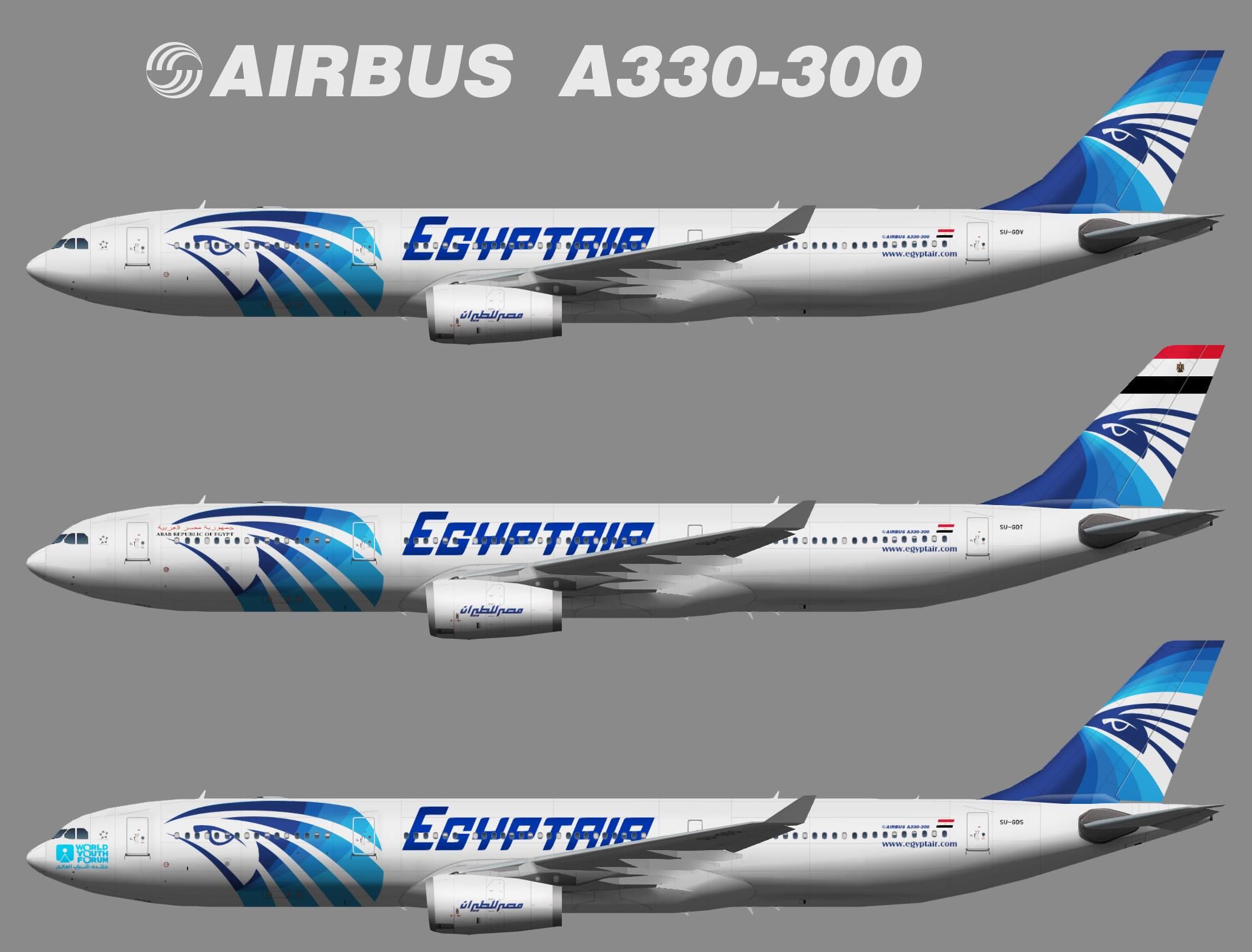 Egyptair Airbus A330-300