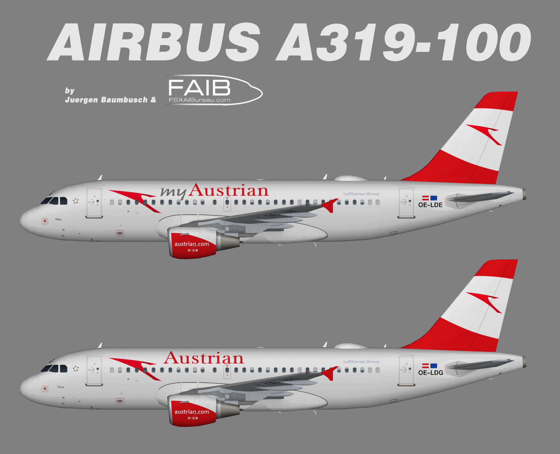 Austrian Airlines Airbus A319-100