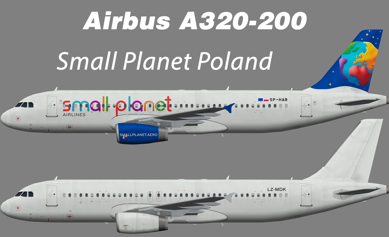 Small Planet Poland Airbus A320-200 – Nils
