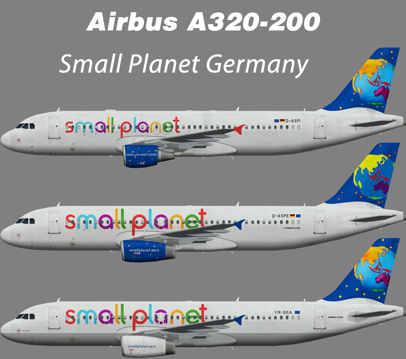 Small Planet Germany Airbus A320-200 – Nils