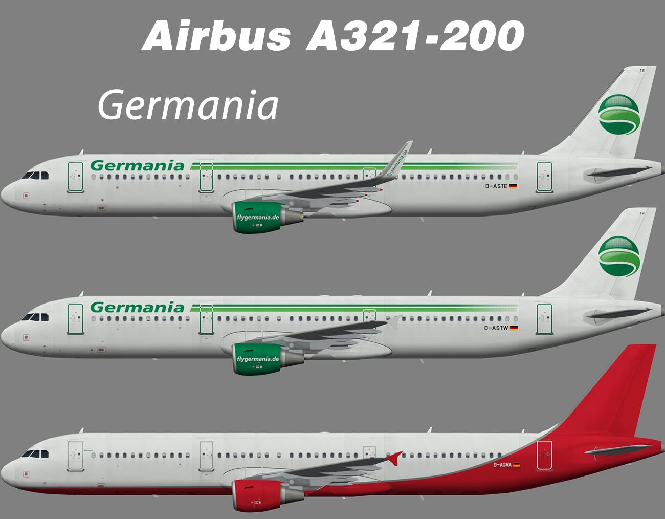 Germania Airbus A321-200 – Nils