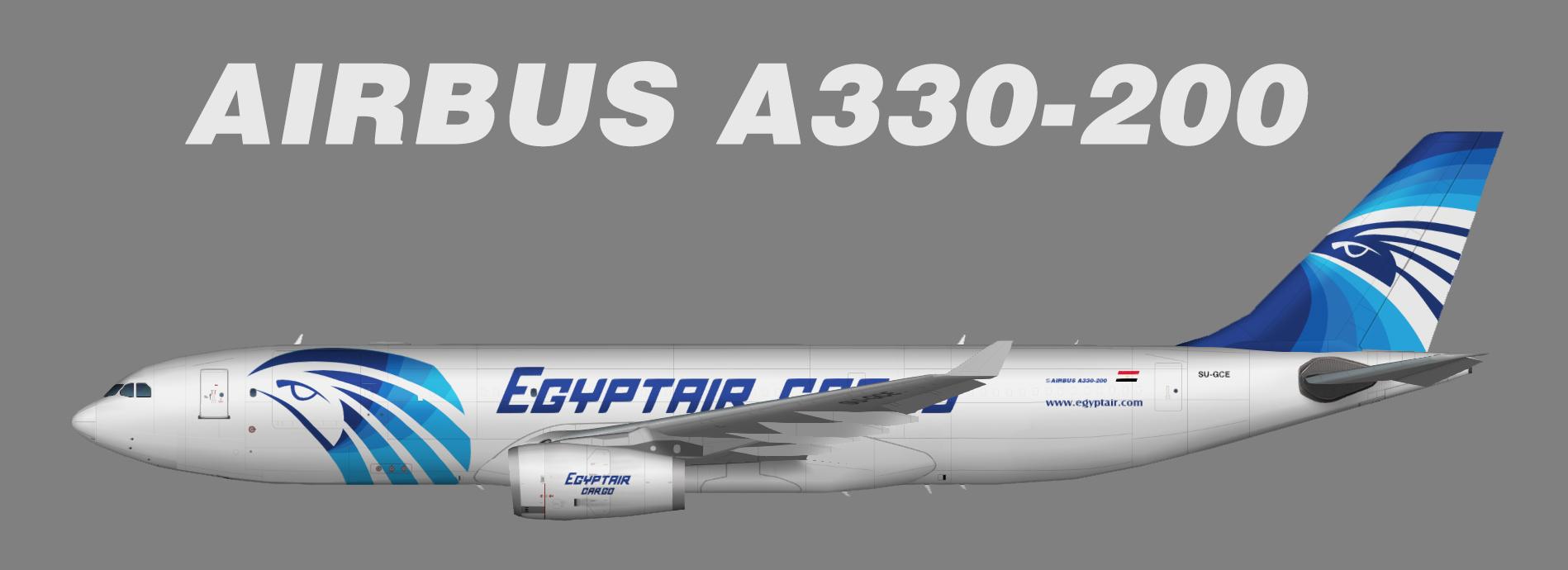 Egyptair Cargo Airbus A330-200P2F