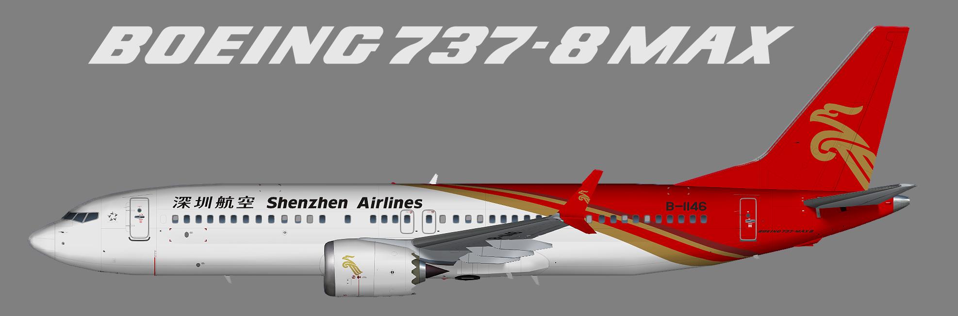 Shenzhen Airlines – Juergen's paint hangar