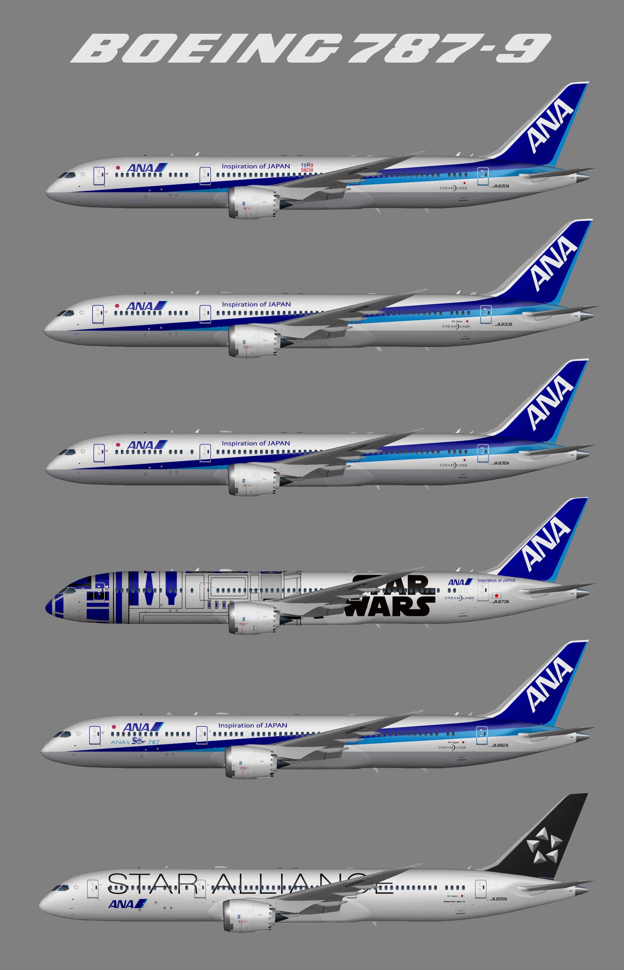 All Nippon Airways (ANA) Boeing 787-9
