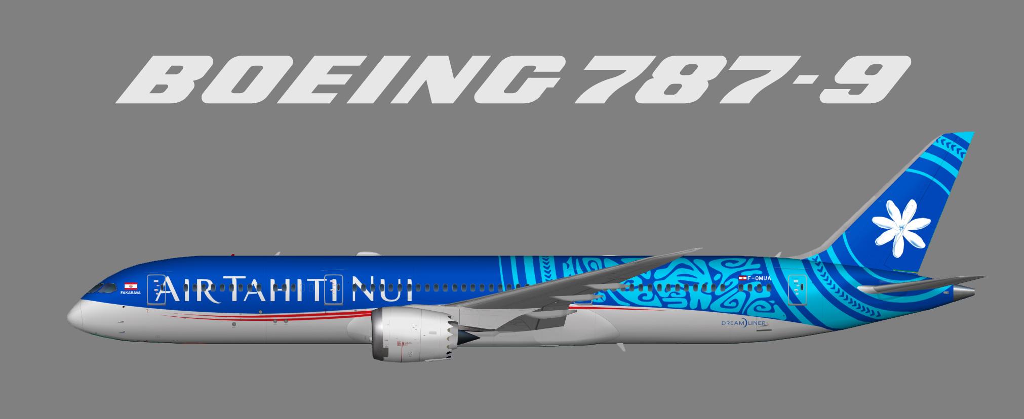 Air Tahiti Nui – Juergen's paint hangar