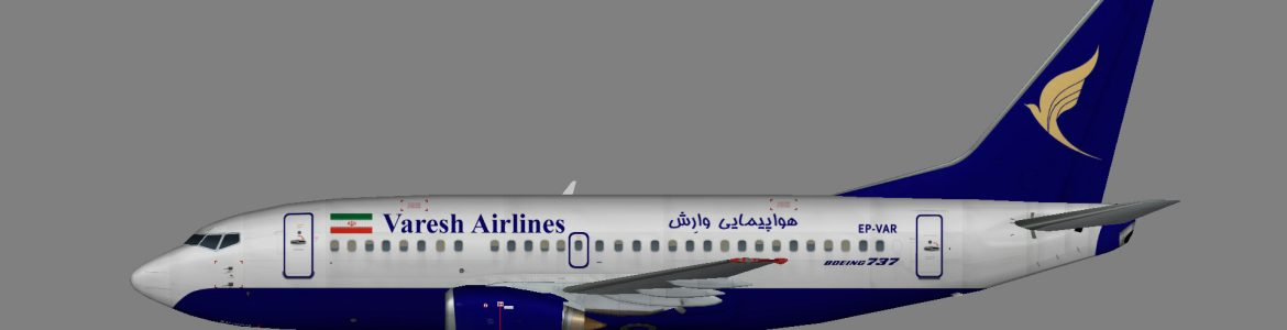 Varesh Airlines 737-500