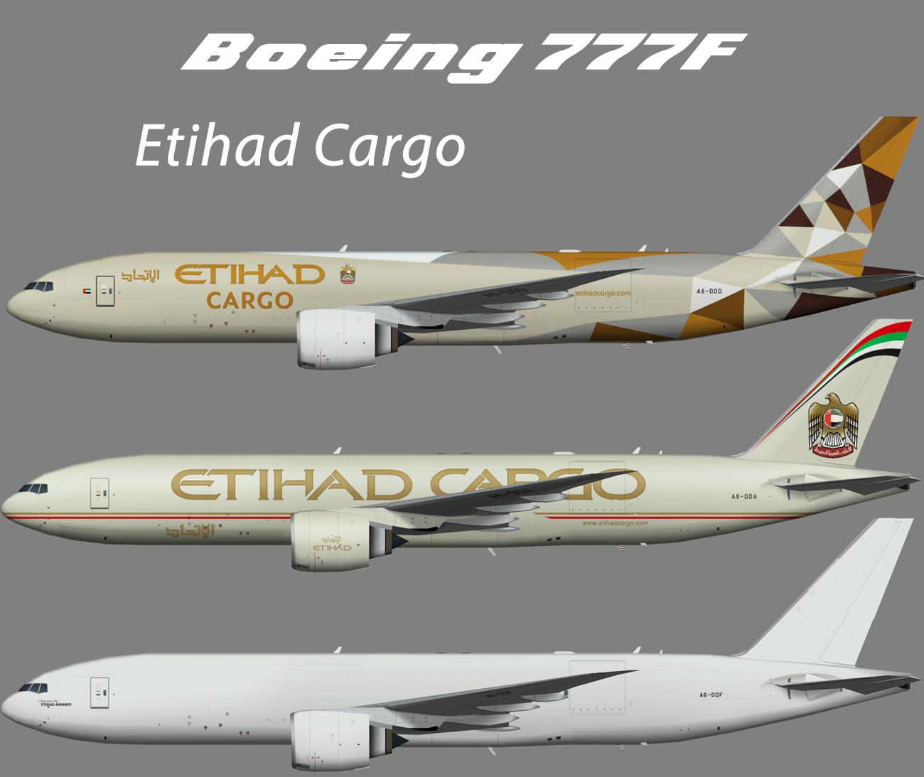 Etihad Cargo Boeing 777F – Nils