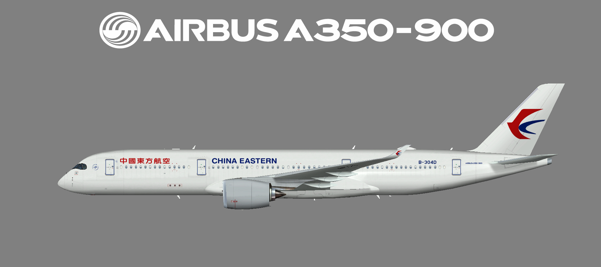 China Eastern Airbus A350-900
