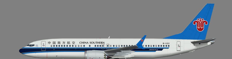 China Southern 737-8 MAX