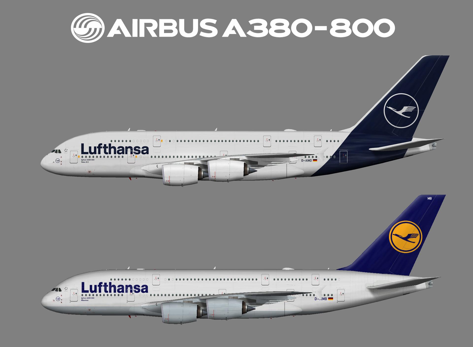 Lufthansa – Juergen's paint hangar